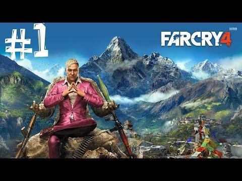 Far Cry 4. Прохождение. Часть 1 (Безумие)