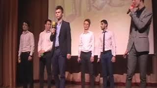 Лучший Ансамбль  и 1 место в номинации СОВРЕМЕННАЯ ПЕСНЯ 11б класс