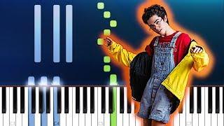 Conan Gray   Crush Culture  (Piano Tutorial)