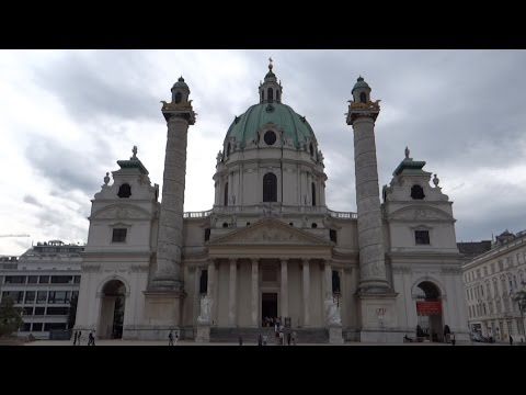 Vienna, Austria - Karlskirche (St. Charl