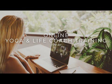 Yoga & Life Coach Training Online - YouTube