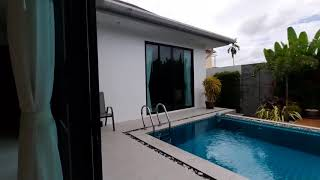 Private Three Bedroom Single Storey Pool Villa Located in a Quiet Area of Cherng Talay