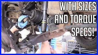 CV Axle Replacement Ford F150