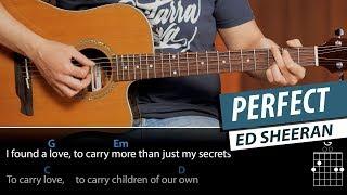 Cómo Tocar PERFECT En Guitarra, Acordes Arpegios Y Ritmo | Guitarraviva