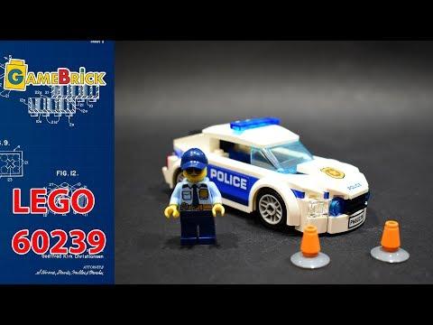 Полицейский патруль 60239 ЛЕГО Сити Обзор [GameBrick]