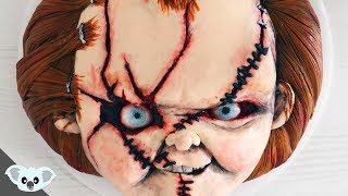Scary Chucky Cake | Childs Play Halloween Birthday Party| Cake Art | Koalipops