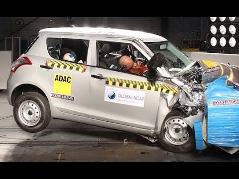 Datsun Go and Maruti Suzuki Swift Get Zero Star Crash ...