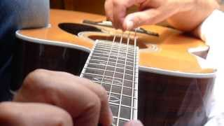 True Colours - Cyndi Lauper / Eva Cassidy acoustic fingerstyle guitar cover - free tab available
