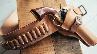 تحميل اغاني Making a Leather Cowboy Action Fast Draw Holster and Belt MP3