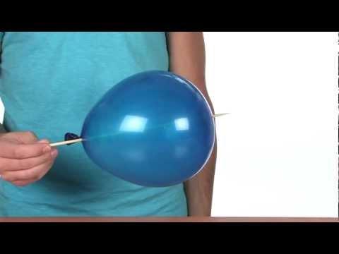 ניסויים עם בלונים לילדים