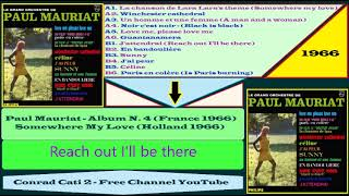 Paul Mauriat - B1 - J'attendrai Reach out I'll be there {Album n  4 '66}