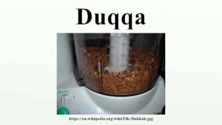 Duqqa