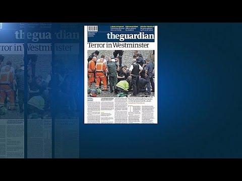 Η επίθεση στο Λονδίνο στα πρωτοσέλιδα των εφημερίδων