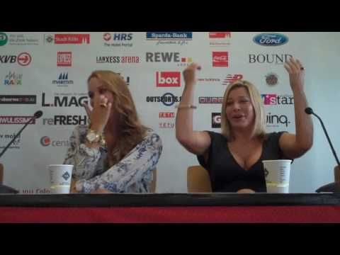 Cologne Gay Games 2010 - Agnes and Taylor Dayne at Press Conference