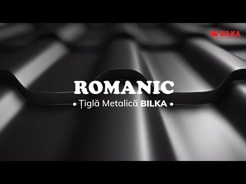Tigla metalica BILKA Romanic