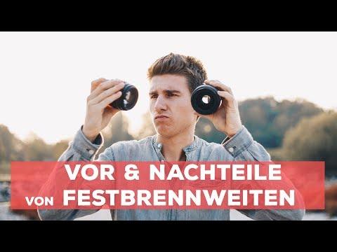 FESTBRENNWEITEN - Vor & Nachteile - 35mm / 50mm / 85mm