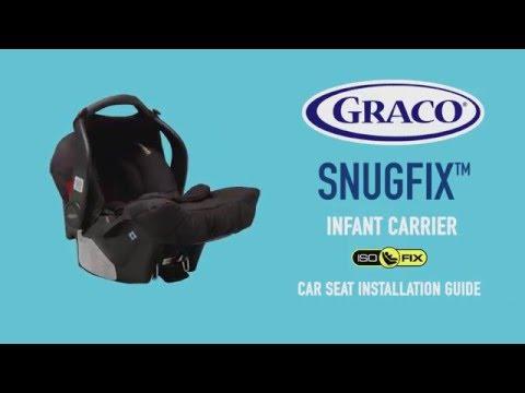 Turvatooli alus Graco Isofix Snugfix 0 0-13 kg317184