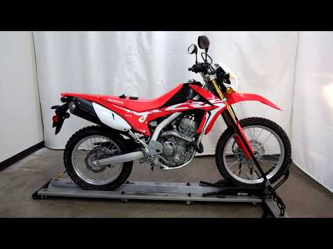 2017 Honda CRF250L in Eden Prairie, Minnesota - Video 1