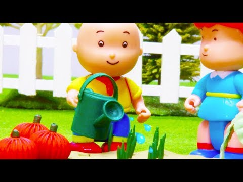🍅 Caillou The Vegetable Farmer 🥕 | Funny Animated Kids Show | Caillou Stop Motion