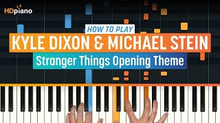 How To Play 'Stranger Things Opening Theme' by K. Dixon & M. Stein | High Quality Mp3piano (Part 1) Piano Tutorial