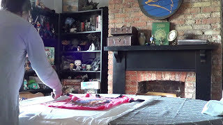 How To Make A Tunic & Hat + How To Dye Linen