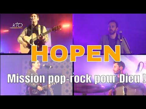 Hopen : mission pop rock pour Dieu !