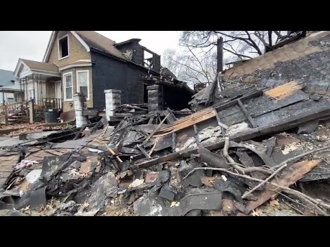 Local family needs help after vacant house fire damages home