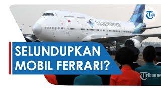 Viral di Medsos Beredar Video Mobil Ferrari di Kargo Pesawat Garuda Indonesia, Ini Penjelasannya