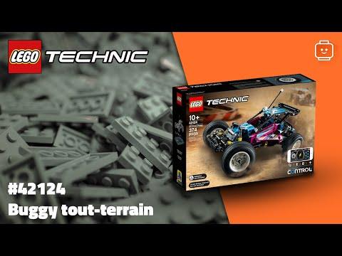 Vidéo LEGO Technic 42124 : Buggy tout-terrain