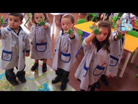 Colegio Santísima Trinidad Salamanca. Día 2. Proyecto Educación Infantil: Un tejado mágico.