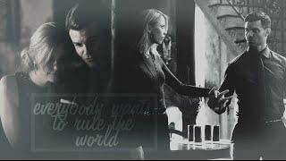 ● Elijah & Freya | Everybody wants to rule the world [+3x20]