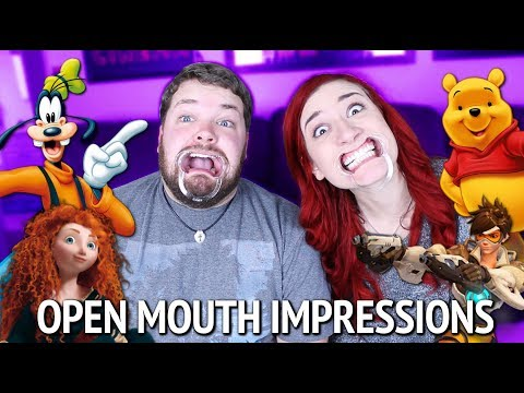 OPEN MOUTH IMPRESSIONS CHALLENGE w/ Brian Hull!