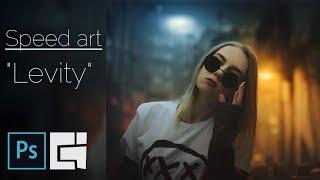 "Braginskoy - Speed art  - ""Девушка в очках"""