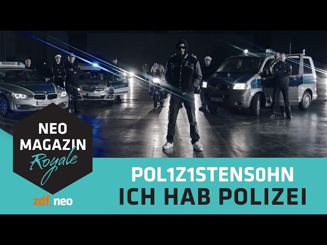 Videouttalande av Polizei Tyska