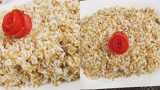 طريقة عمل أرز حبة وحبة   العزومة مع الشيف فاطمة أبو حاتي