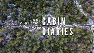 Cabin Diaries Aerial Cinematic Edit | Living off-grid in Canada | DJI Canada