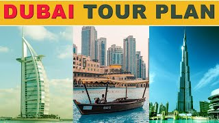 Dubai Tour Plan with Budget