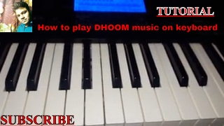 How To Play Dhoom 3 Tone On Piano