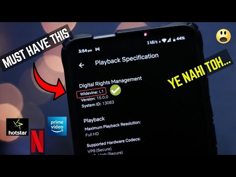 What is L1/L2/L3 Widevine Certification in Phone ? Watch Before ...