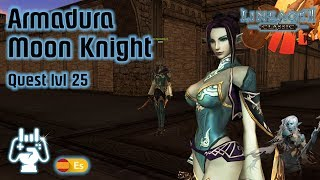Quest Armadura lvl 25! ⚔️ Lineage 2 Classic Gameplay Español ⚔️ Moon Knight Armor