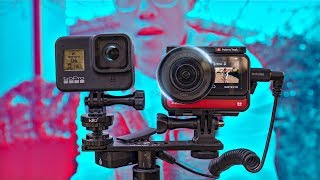 BEST Action Camera of 2020? Insta360 ONE R 5.3K 1-inch Sensor with Leica In Depth Review