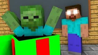 Monster School : Presents Opening CHALLENGE - Minecraft Animation