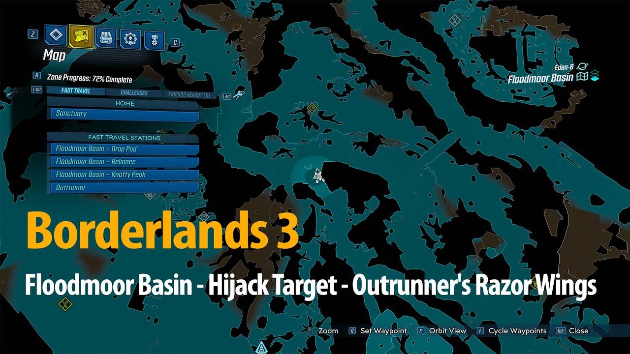 Video Floodmoor Basin - Hijack Target - Outrunner's Razor Wings