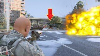 GTA 5 - Đại chiến với Người ngoài hành tinh (Alien Invasion Mod)