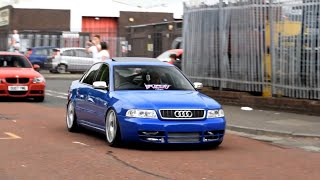 Cars leaving Biggest Modified car Show in UK!