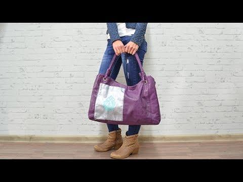 Tasche aufpimpen mit Color Up von Viva Decor