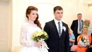 Регистрация брака во Дворце. Свадьба 8 апреля 2017 (Денис и Татьяна)
