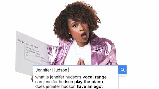 Jennifer Hudson Answers the Web's Most Searched Questions | WIRED