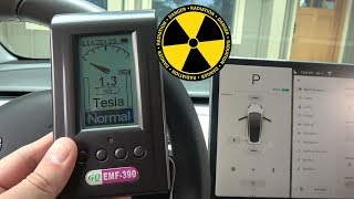 How Much EMF Radiation Do Teslas Expose You To?