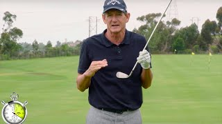 Hank Haney: Simple Drill For Solid Irons